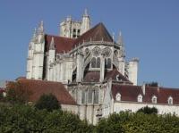 Auxerre - La cathédrale