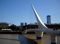 Buenos Aires - Puerto Madero, Puente de la Mujer