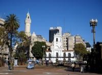 Buenos Aires - Plaza de Mayo et Cabildo