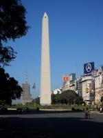 Buenos Aires - L'obélisque, sur l'Avenida 9 de Julio