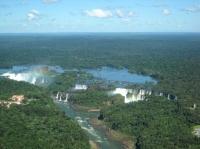 Chutes de l'Iguazu, vues d'hélicoptère
