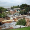 Asuncion - Bidonvilles le long du rio Paraguay