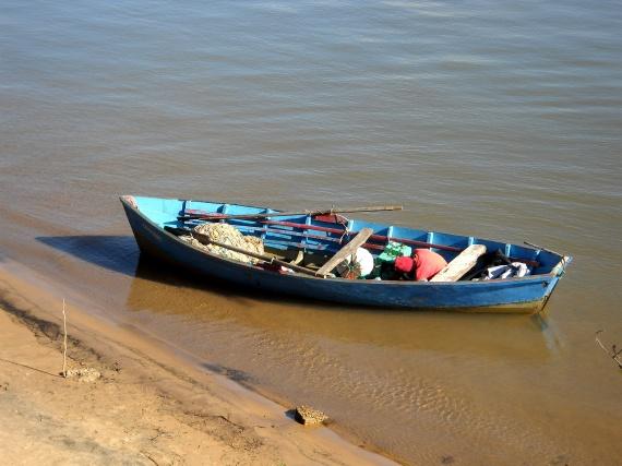 Corrientes - Barque sur le Parana