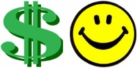 Dollar Sign Smiley Face