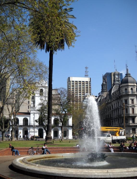 Buenos Aires - La Plaza de Mayo