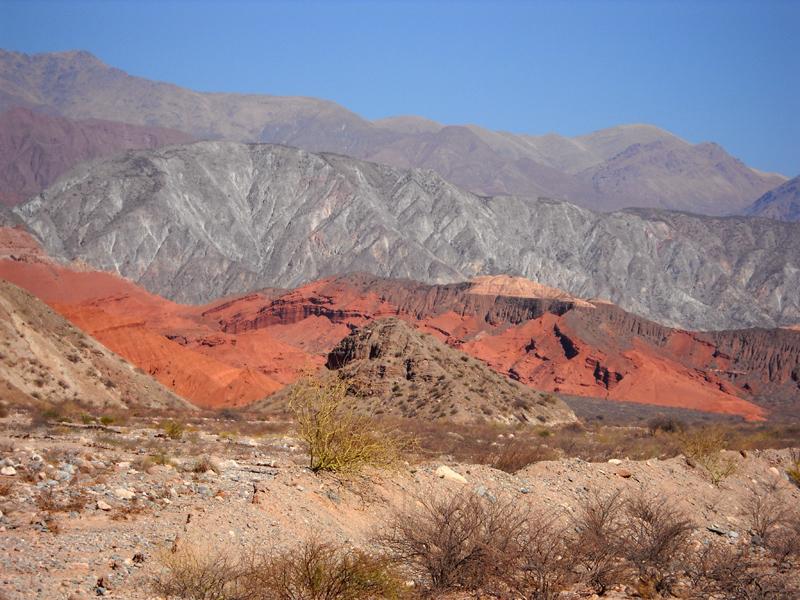 Les extraordinaires couleurs de la Quebrada de las Conchas