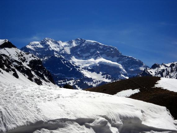 L'Aconcagua (6962 m), toit des Amériques