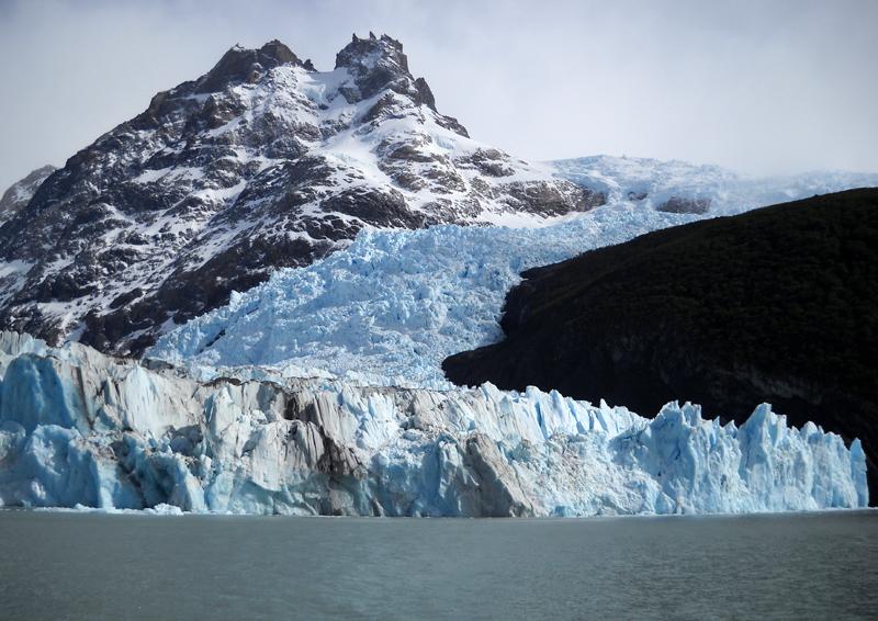 Le glacier Spegazzini, sur le Lago Argentino