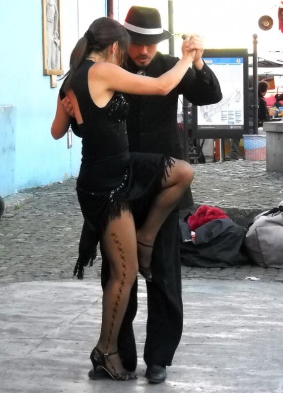 Buenos Aires - La traditionnelle photo de tango