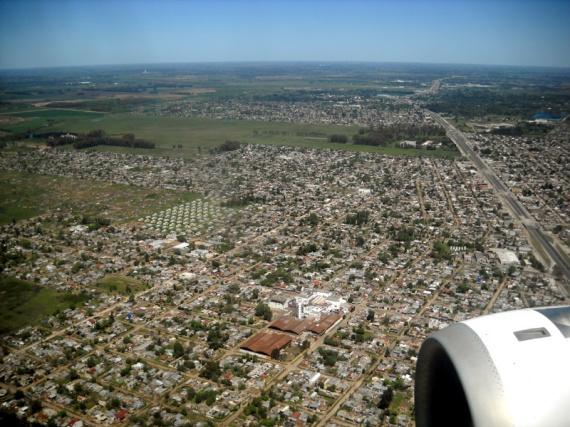 Survol de Buenos Aires