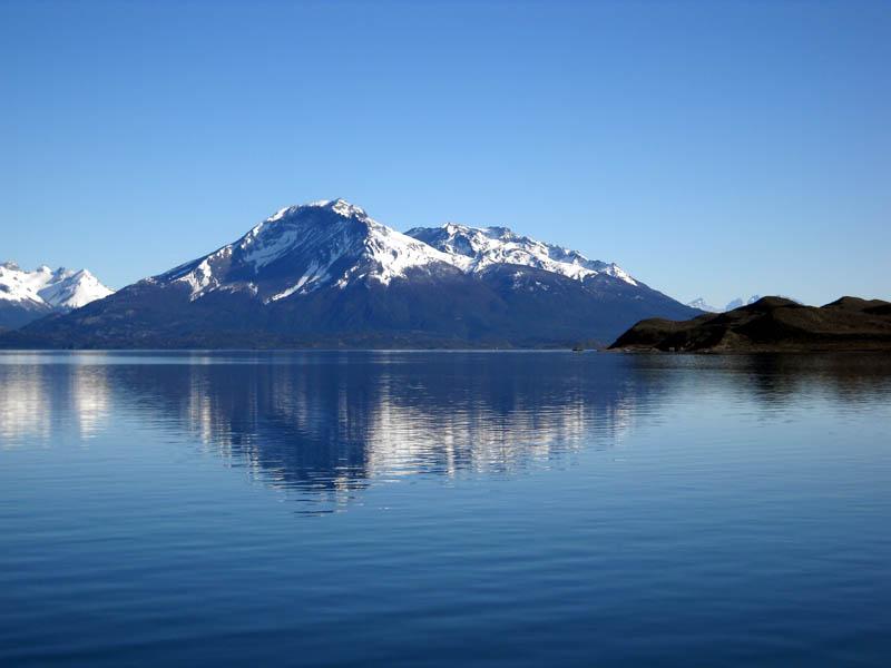 Fjord Última Esperanza, région de Puerto Natales