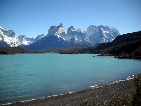 Parque nacional Torres del Paine, le Lago Pehoe