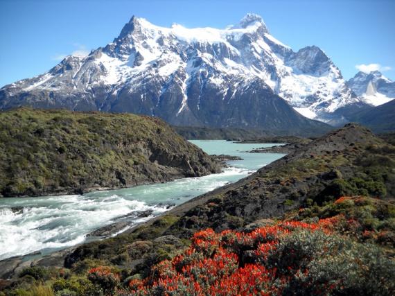 Parque nacional Torres del Paine, le massif de Paine Grande