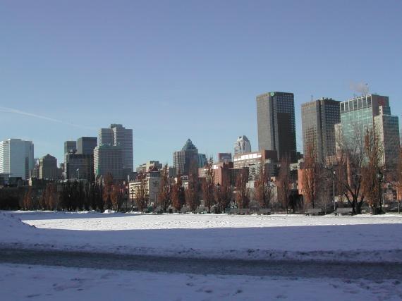 Montréal - Gratte-ciel du centre-ville