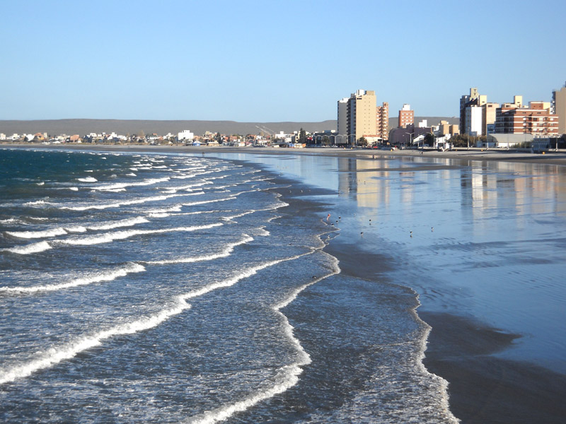 Puerto Madryn - La plage