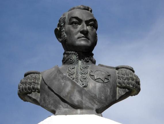 Puerto Madryn - Le Général San Martín, figure emblématique de l'Argentine