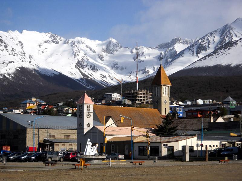 Ushuaia, la ville la plus australe du monde (Terre de Feu)