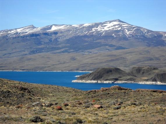 Parque nacional Torres del Paine, le Lago Sarmiento