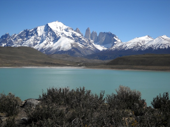 Parque nacional Torres del Paine, la Laguna Amarga