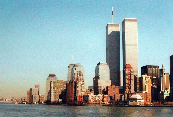 Le World Trade Center quelques mois avant sa destruction