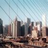 Manhattan vu du pont de Brooklyn