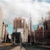 L'Empire State Building et Broadway
