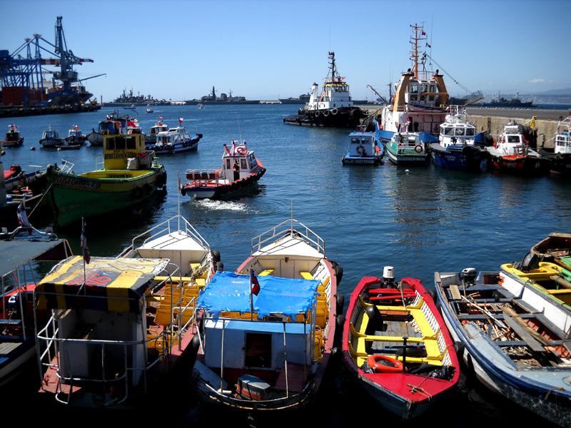 Valparaiso - Le port