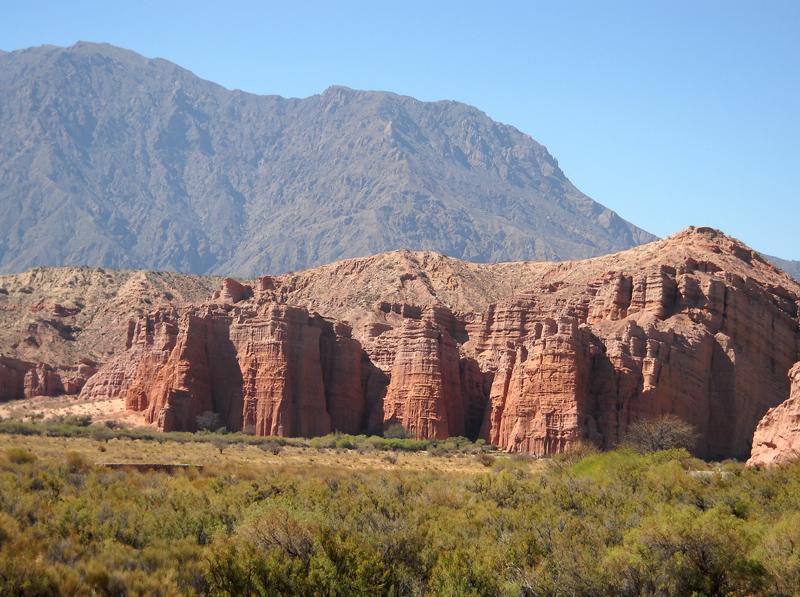 La Quebrada de las Conchas (los castillos)