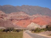La Quebrada de las Conchas, route de Salta à Cafayate