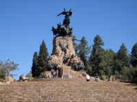 Mendoza - Cerro de la Gloria, monument à l'Armée des Andes
