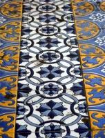 Mendoza - Plaza España, azulejos