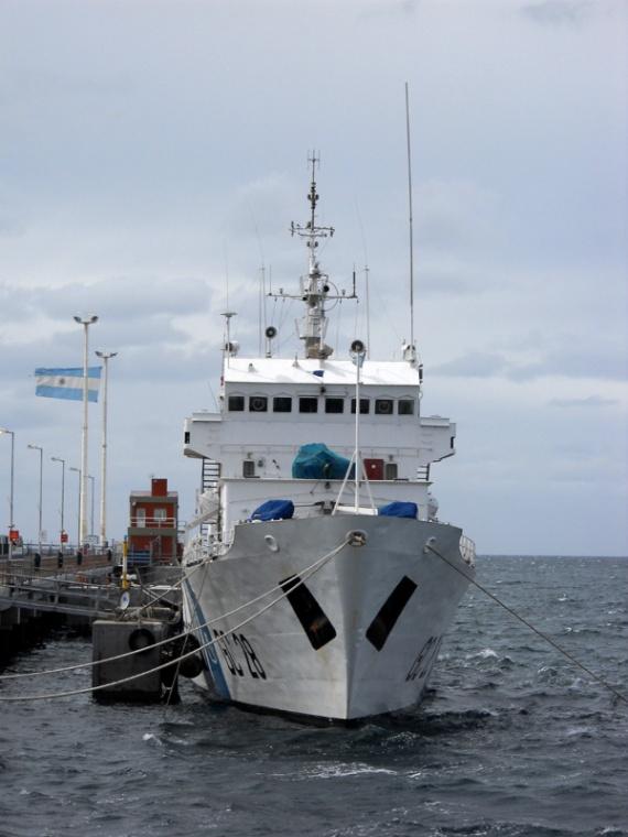 Puerto Madryn - Bateau garde-côte