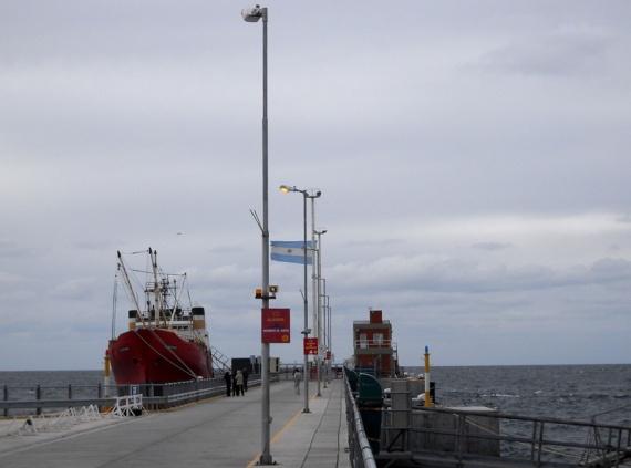 Puerto Madryn - La jetée