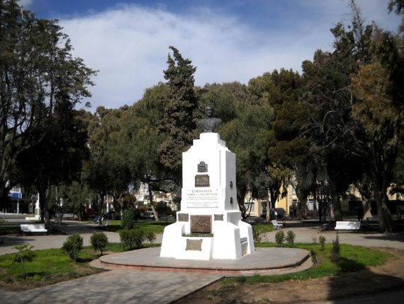 Puerto Madryn - Plaza San Martin