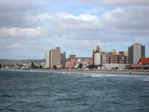Vue d'ensemble de Puerto Madryn, sur l'Atlantique