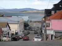 Ushuaia - Les rues en pente peuvent évoquer San Francisco