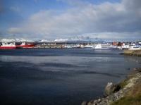 Ushuaia - Vue d'ensemble du port