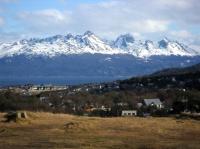 La route du Glacier Martial à Ushuaia