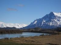 Parque nacional Torres del Paine, le Rio Grey