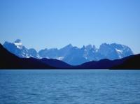 Fjord Última Esperanza, la cordillera del Paine