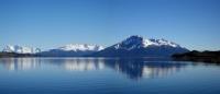 Le fjord Ultima Esperanza, près de Puerto Natales