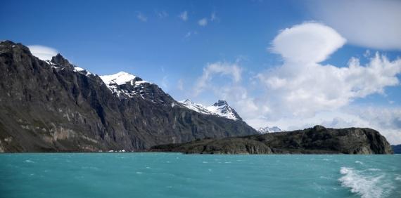 Le Lago Argentino et ses eaux bleu turquoise