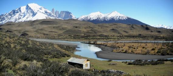 Parc national Torres del Paine, secteur de Puente Kusanovic
