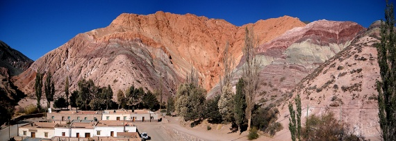 Le Cerro de los Siete Colores à Purmamarca