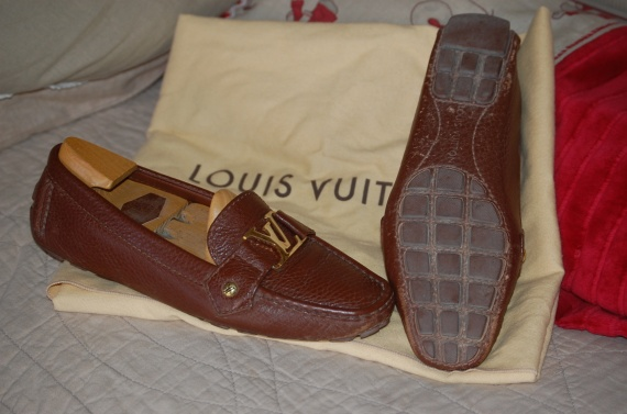 mocassins vuitton 37
