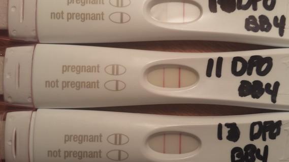 Tests de grossesse qui ne foncit plus je suis rassurer merci d mamans et futures mamans - Fausse couche et test de grossesse ...