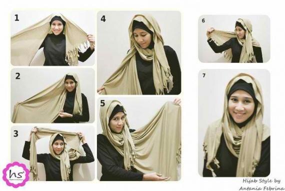 comment coudre le hijab