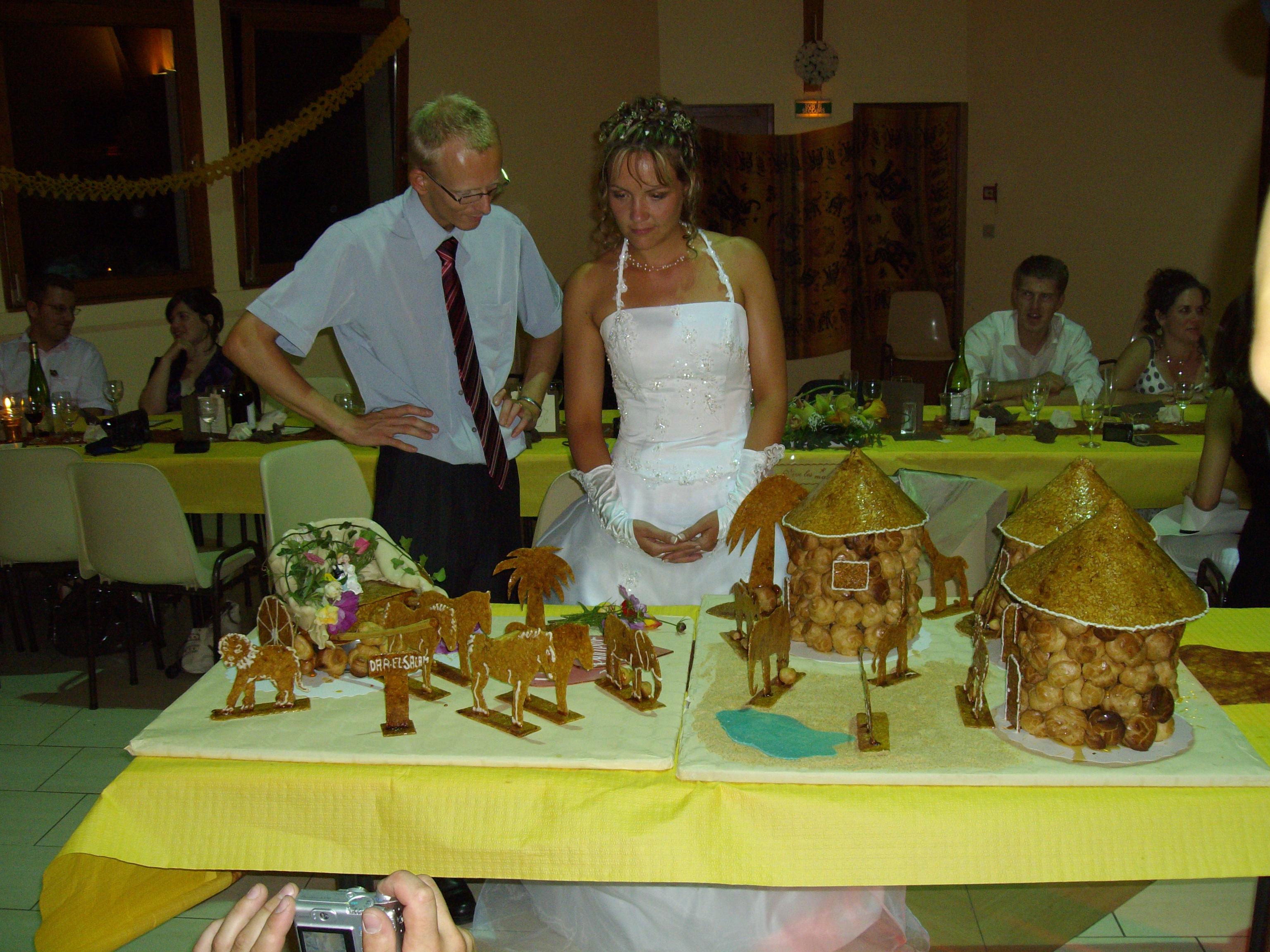 Idée menu mariage africain