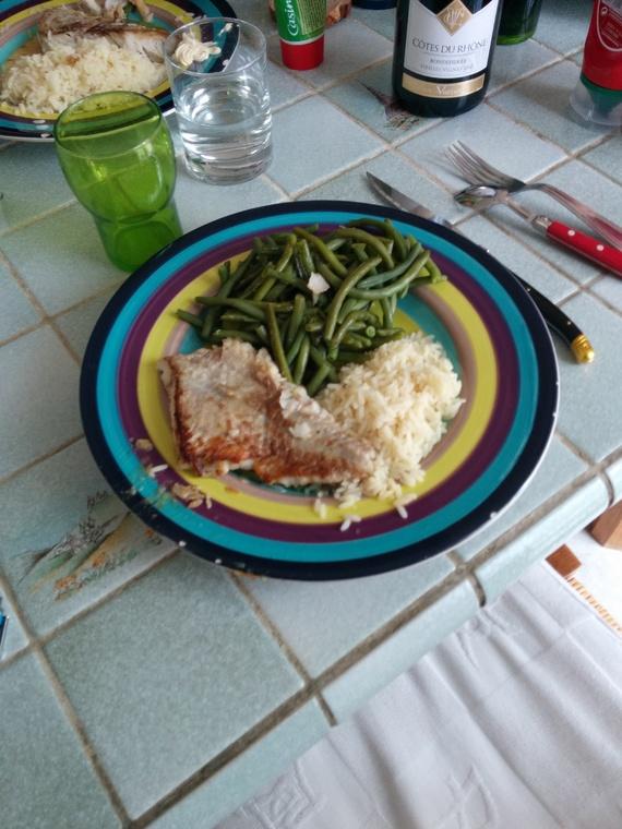 mon repas de midi