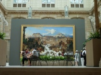 Hall d'entrée du musée des beaux arts